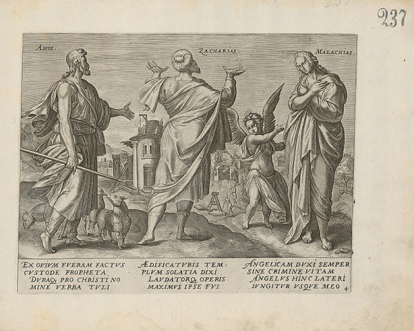 Claes Jansz. Visscher – Amos, Zacharias, Malachias