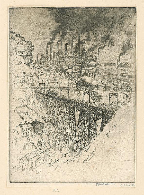 Joseph Pennell – Továreň