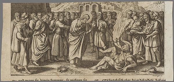 I. A. Joninger – Uzdravenie posadnutého diablom