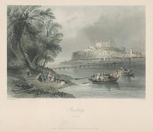 William Henry Bartlett, Joseph Clayton Bentley – Pohľad na Bratislavu