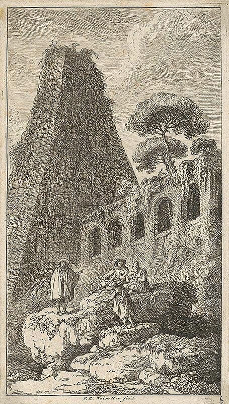 Franz Edmund Weirotter – Talianska idyla