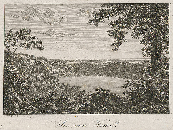 Johann Christian Reinhart – Nemské jazero