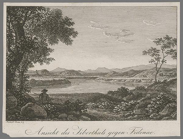 Johann Christian Reinhart – Pohľad na krajinu vo Fidenne