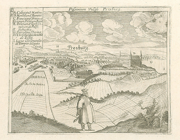 Stredoeurópsky grafik LS zo 17. storočia - Bratislava