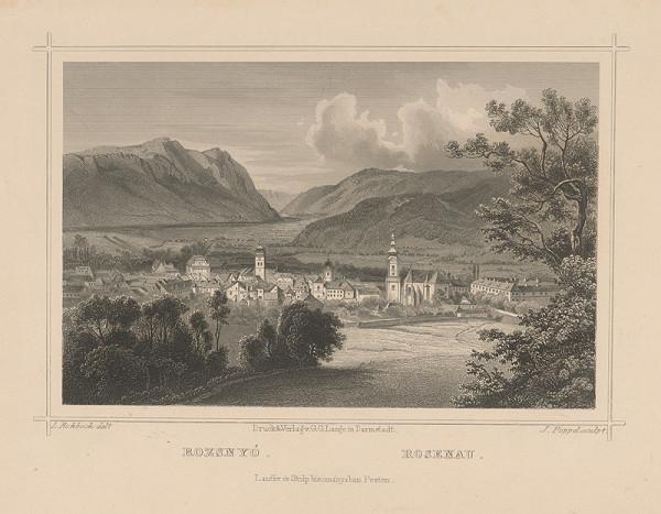 Ludwig Rohbock, Johann Gabriel Friedrich Poppel - Rožňava