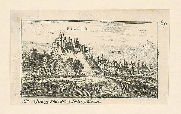 Stredoeurópsky autor z 18. storočia - Fiľakovo