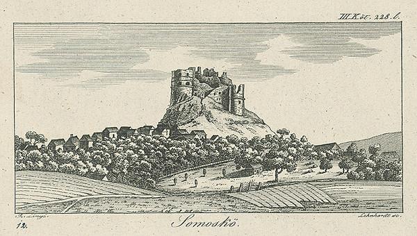 Samuel Lenhardt, Samuel Lányi – Hrad Šomoška
