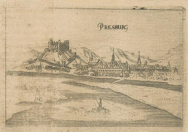 Stredoeurópsky grafik zo 17. storočia - Bratislava