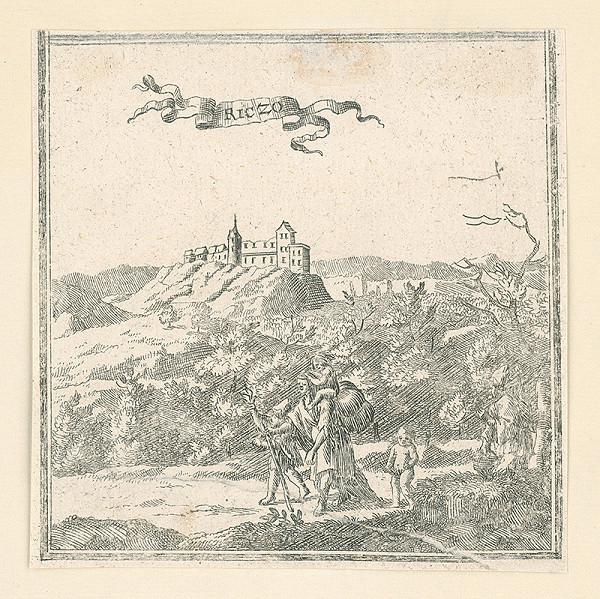 Stredoeurópsky grafik zo 17. storočia - Hričov