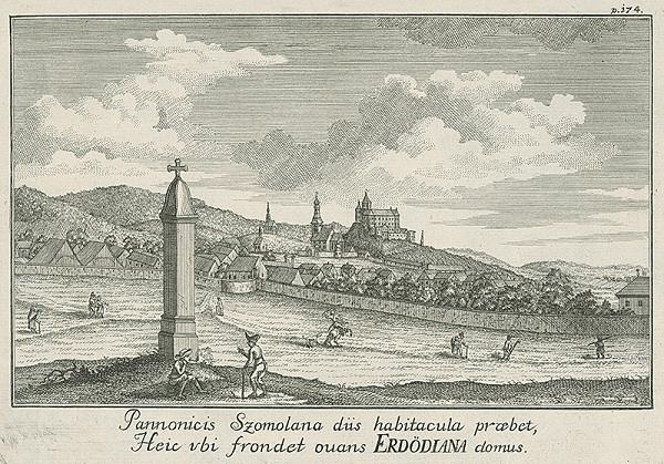 Samuel Mikovíny, Abraham Kaltschmidt - Smolenice
