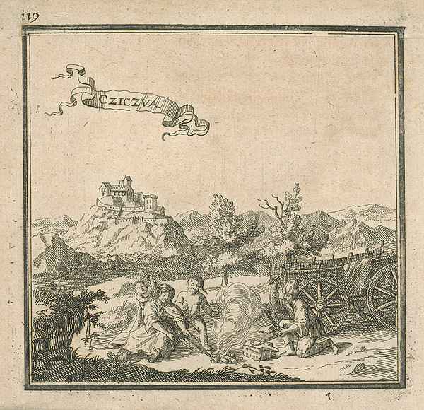 Stredoeurópsky autor zo 17. storočia - Čičava