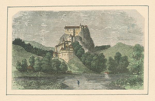 Stredoeurópsky autor z 19. storočia - Oravský hrad