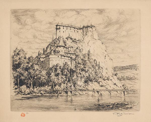 František Tavík Šimon - Oravský hrad