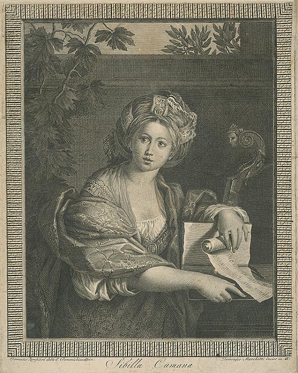 Domenico Marchetti, Domenico Zampieri – Sibilla Cumana