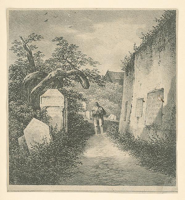 Český autor ČK z 19. storočia – Na starom cintoríne