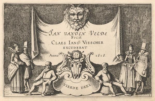 Jan van de Velde ml., Claes Jansz. Visscher – 23. list z albumu