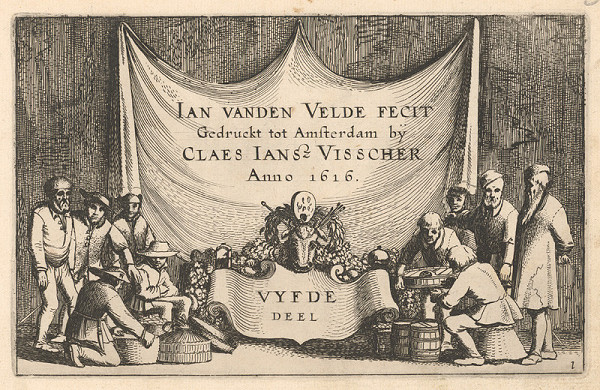 Jan van de Velde ml., Claes Jansz. Visscher – 50.list z albumu