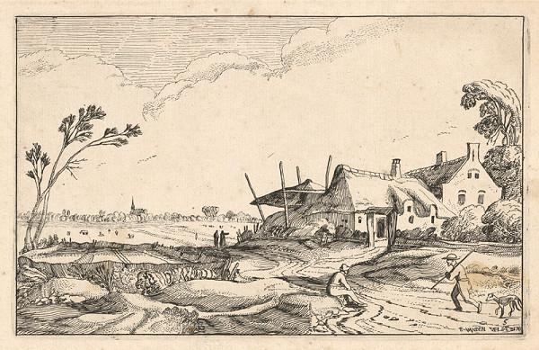 Esaias van den Velde, Jan van de Velde ml. – Usadlosť pri hradskej (5)