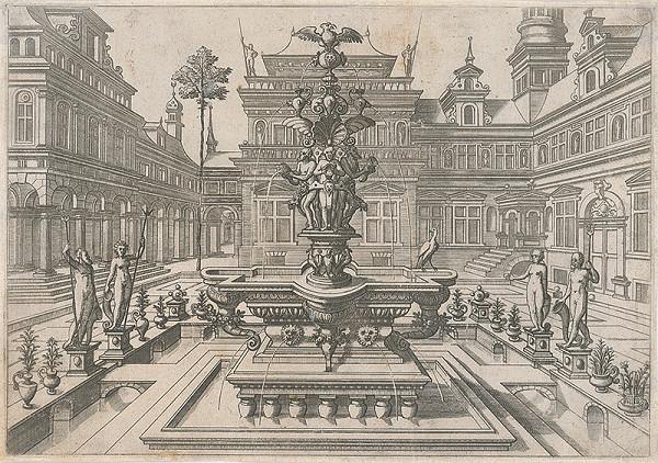 Taliansky rytec zo začiatku 16. storočia – Veľký renesančný vodomet