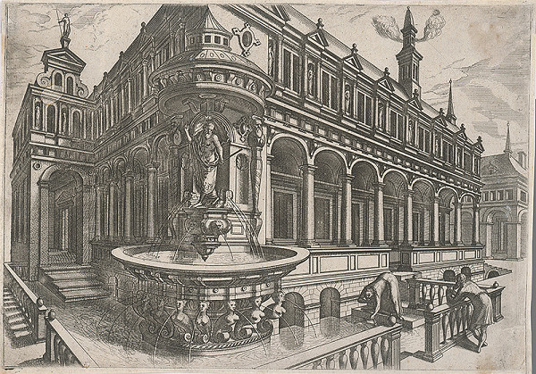 Taliansky rytec zo začiatku 16. storočia, Neznámy umelec – Fontána (1)