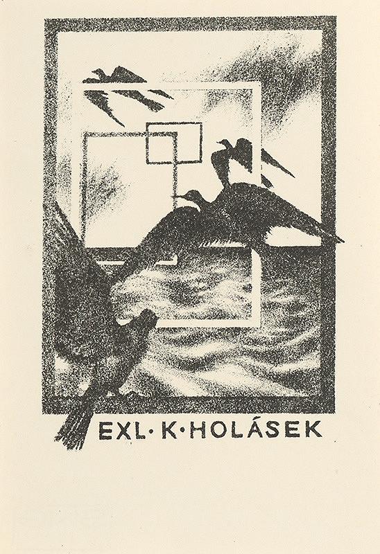 Naďa Rappensbergerová-Jankovičová - Ex libris K.Holásek