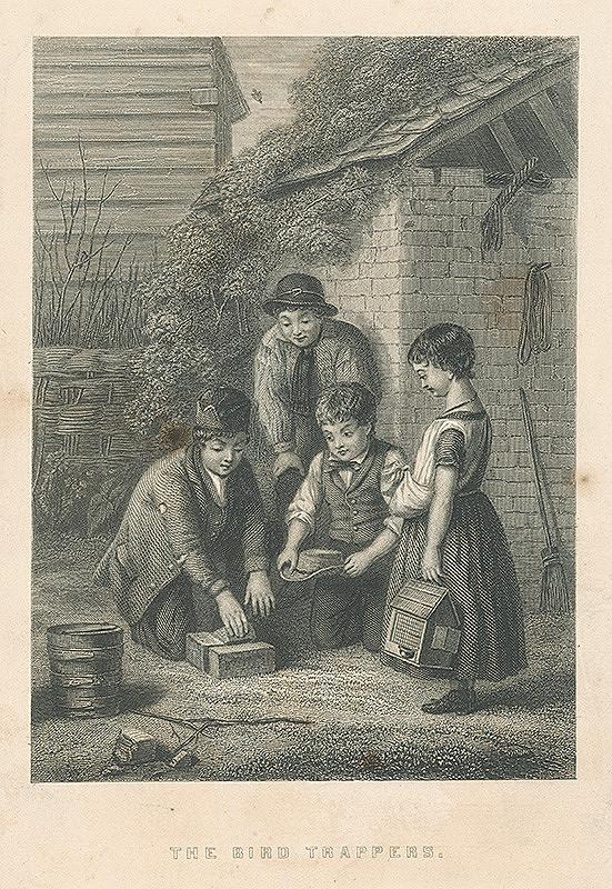Anglický autor z 19. storočia - Chytanie vtáčkov