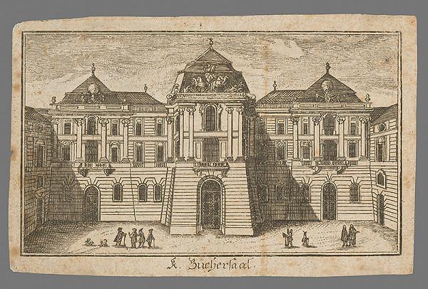 Západoeurópsky autor z 18. storočia – Knižnica viedenského Hoffburgu