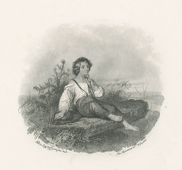 Josef Axmann, Peter Johann Nepomuk Geiger - Ilustrácia ku Stifterovi II