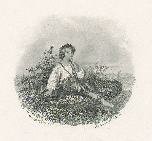 Josef Axmann, Peter Johann Nepomuk Geiger - Ilustrácia ku Stifterovi III