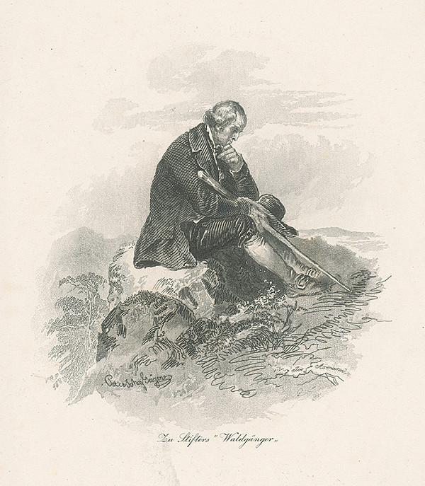 Josef Axmann, Peter Johann Nepomuk Geiger - Ilustrácia ku Stifterovi V