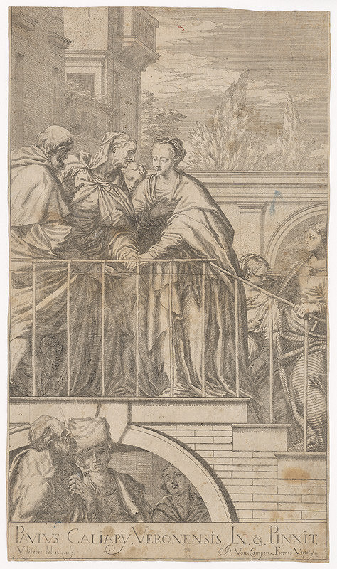 Valentin Lefebvre, Paolo Veronese - Navštívenie