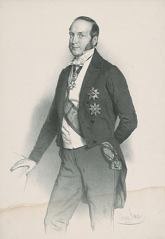 Eduard Kaiser - Portrét dvorského hodnostára