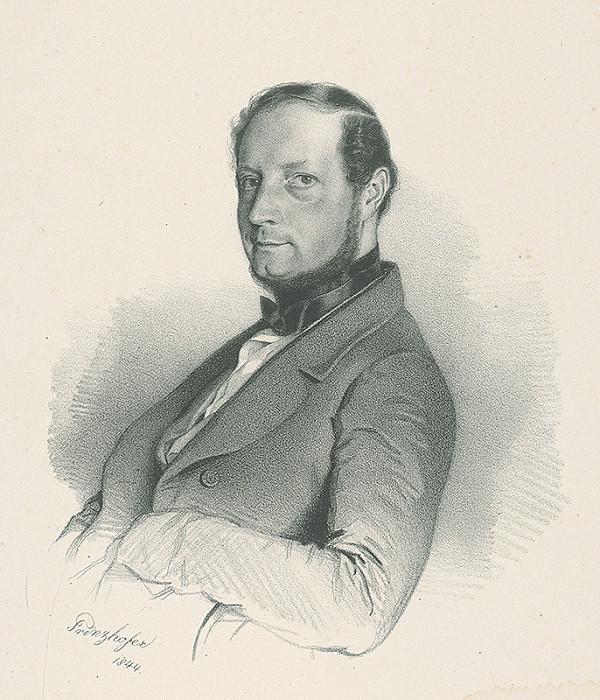 August Prinzhofer - Portrét muža