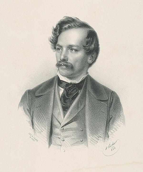 L. Fischer - Portrét muža