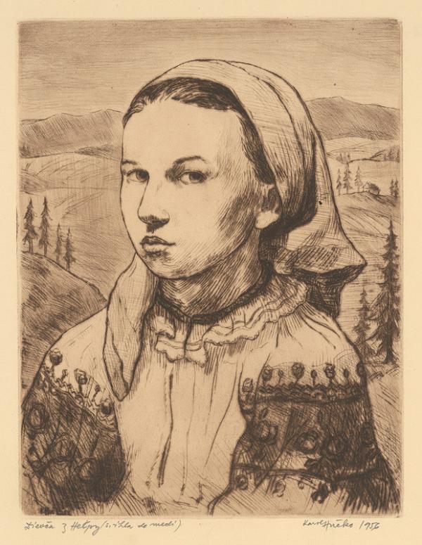 Karol Hučko – Dievča z Heľpy