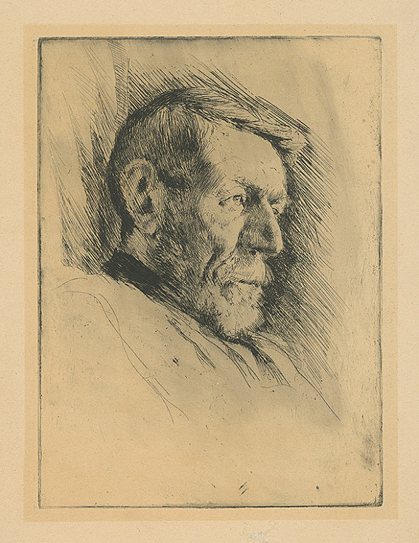 Koloman Sokol – Portrét starca
