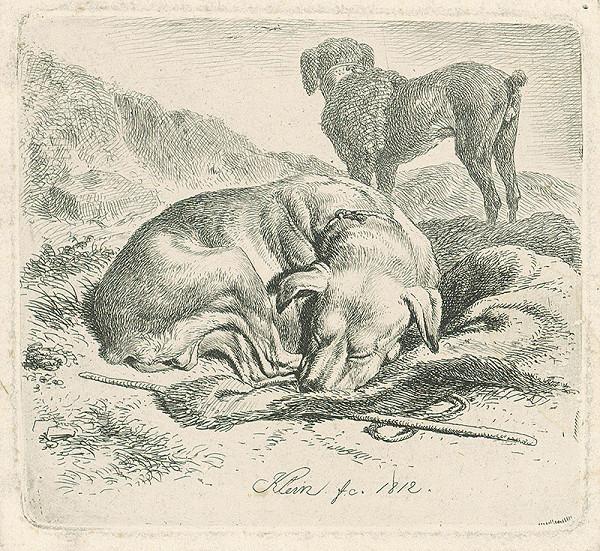 Johann Adam Klein – Spiaci pes