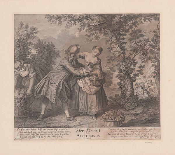 Georg Hei...Johan, Nicolas Lancret - Jeseň