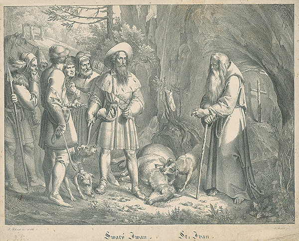 Joseph von Führich, Antonín Machek - Svätý Ivan