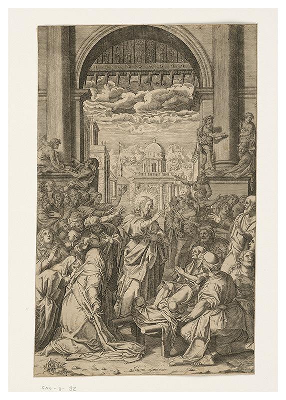 Federico Zuccarro - Vzkriesenie Lazara
