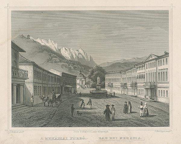 Ludwig Rohbock, G. Heisinger – Kúpele pri Mehadii
