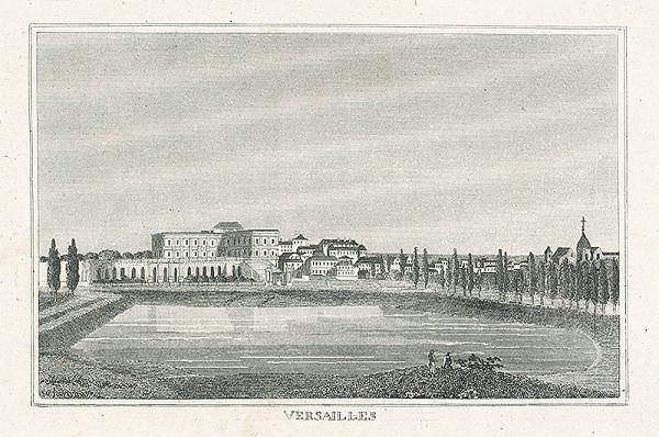 Nizozemský grafik z 19. storočia – Versailles