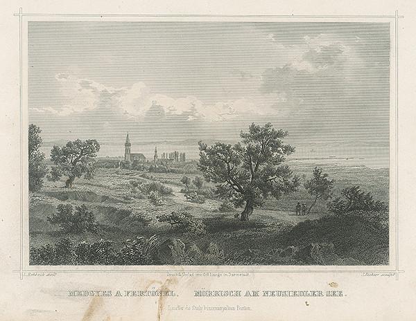 Johann Richter, Ludwig Rohbock – Višňový sad pri Neziderskom jazere