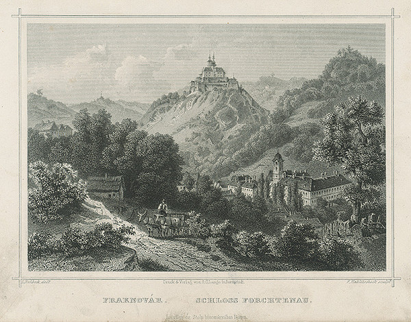 Franz Hablitschek, Ludwig Rohbock – Zámok Fortenau