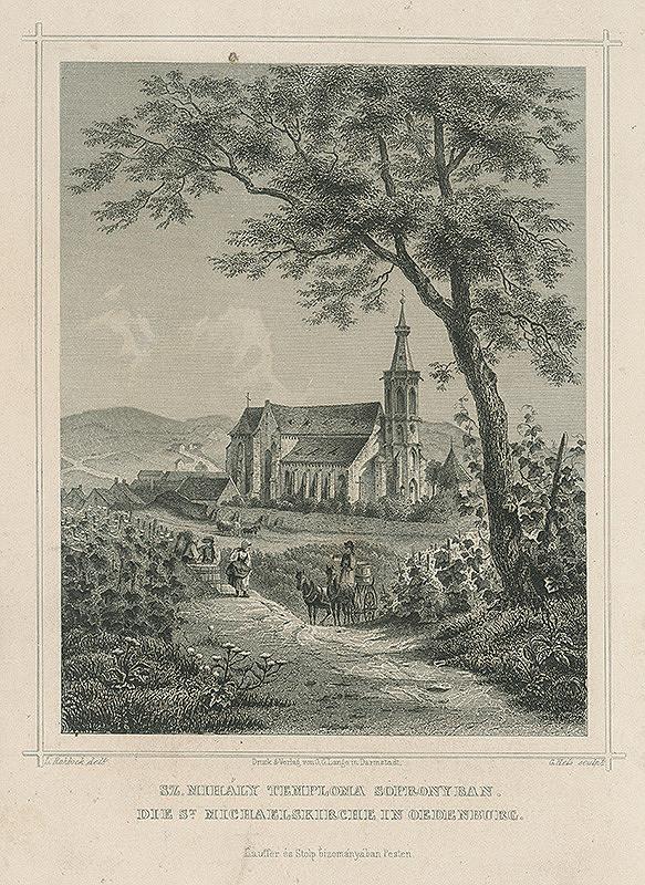 Ludwig Rohbock, Georg Hels – Kostol svätého Michala v Šoproni
