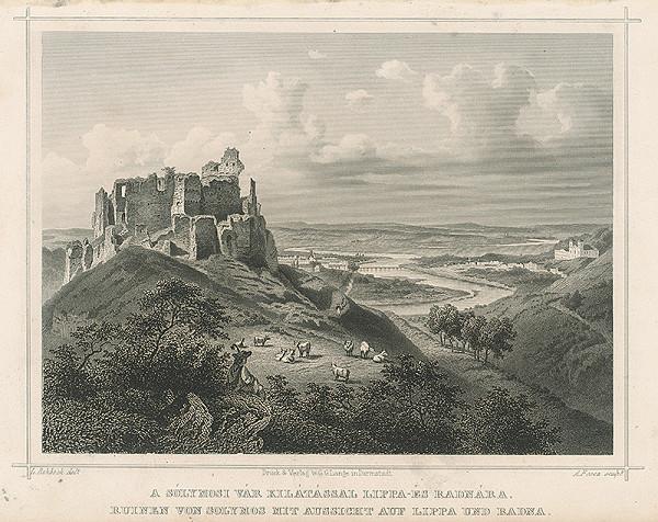 Ludwig Rohbock, A. Fesca – Zrúcaniny hradu Šoľmoš