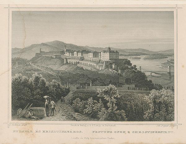 Ludwig Rohbock, Johann Gabriel Friedrich Poppel - Budínska pevnosť a Krisztinaváros