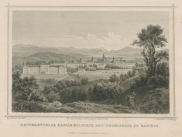 Johann Richter, Ludwig Rohbock – Vojenská škola v Košiciach