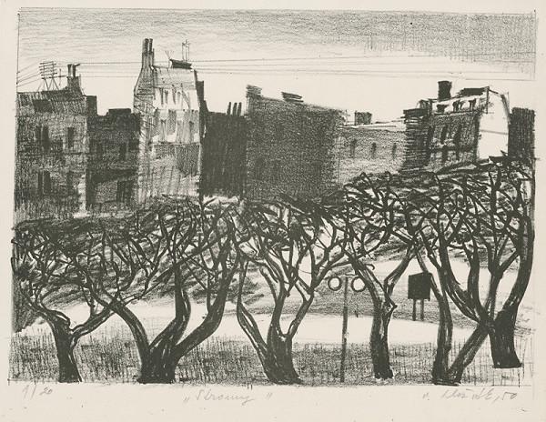 Vincent Hložník – Stromy