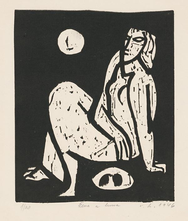 Vincent Hložník – Žena a luna